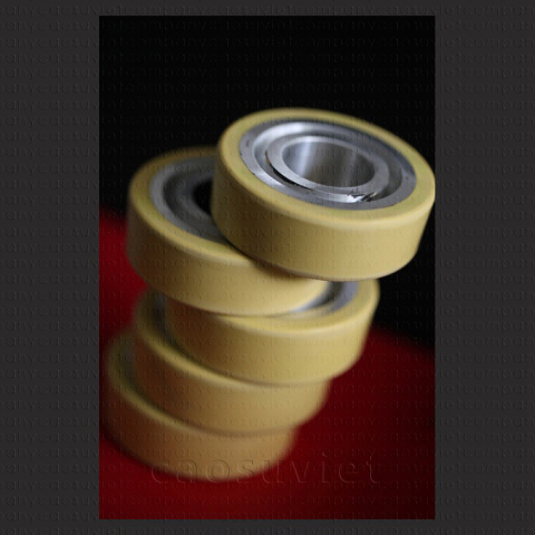 Rubber cover metal core